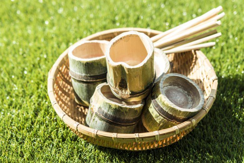 【イベント案内】竹カップとお箸つくりワークショップ